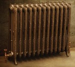 Rococco/Windsor 945 - 2 Column Period Radiator In Painted By Carron Radiators at Jig