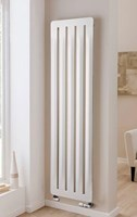 The Radiator Company Arrow Vertical Designer Radiator in White