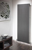 The Radiator Company Trim Double Designer Vertical Radiator in White