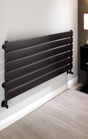 The Radiator Company Tornado Single Designer Horizontal Radiator in Colour