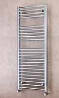Cheshire Radiators Tarporley 1200mm Height Straight Chrome Cross Tube Towel Rail