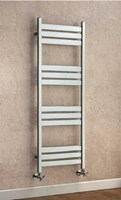Cheshire Radiators Delamere Steel Flat Tube Towel Rail