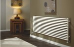 The Radiator Company TRC16 Double Horizontal Designer Radiator in white
