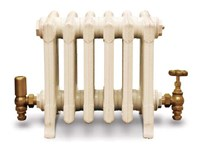 Victorian 330 - 9 Column Period Cast Iron Radiator In Primer By Carron at Jig