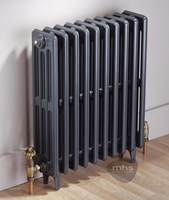 Clasico 4 Column 420mm Height Cast Iron Radiator By MHS Radiators