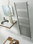 BD 13 Double Towel Radiator in white By The Radiator Company