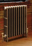 Victorian 760 - 4 Column Cast Iron Period Radiator In Full Polish By Carron Radiators at Jig