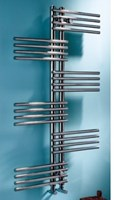 MHS Fingers Polished Stainless Steel Towel Rail by MHS Radiators
