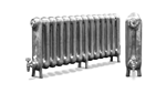 The Princess 610 2 Column Period Radiator in Antique/Highlighted by Carron Radiators at Jig