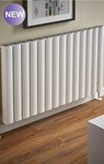 The Radiator Company Vista Horizontal Radiator in Anodised Aluminium