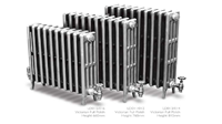 Victorian 460 4 Column Period Radiator Painted by Carron Radiators at Jig