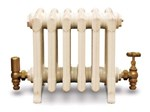 Victorian 330 - 9 Column Period Cast Iron Radiator In Full Polish By Carron at Jig