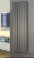 Brolin Radiators Malmo Vertical Single Flat Panel Radiator