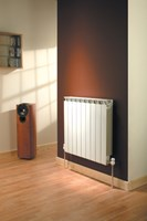 Mix89 890mm height designer aluminium sectional radiator by The Radiator Company