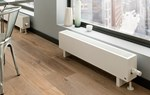 The Radiator Company Mini 180mm Low Horizontal Radiator in White