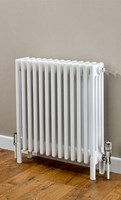 Cheshire Radiators Kingsley 4 Column Horizontal Steel Radiator in white