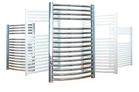 Prorad Straight Towel Rail in Chrome 1750mm H x 500mm W