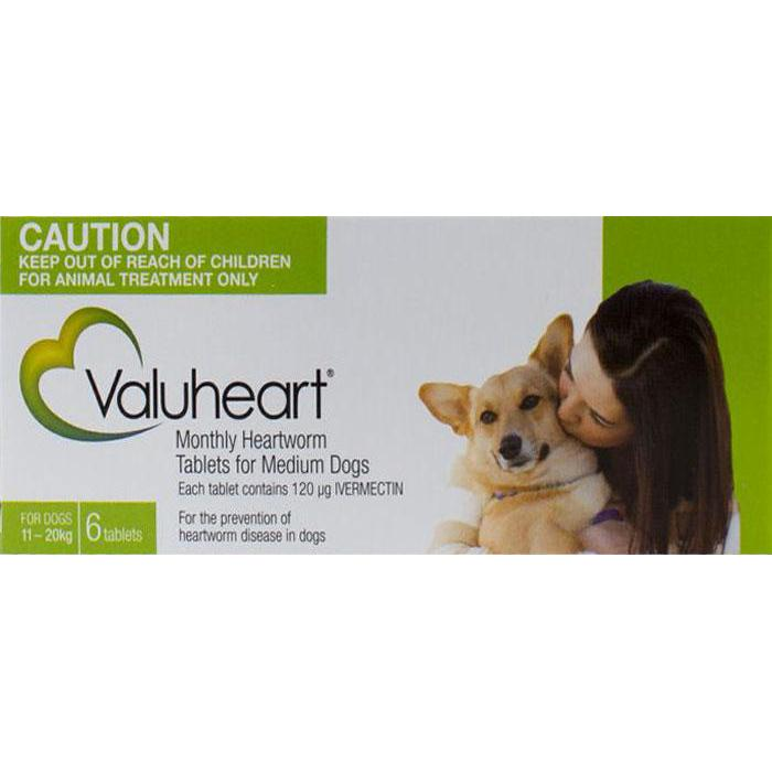 Valuheart Green Dogs 23 44lbs 10 20kg 6 Chewables