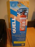 Quell Fire Extinguisher 1Kg ABE