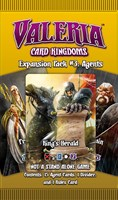 Valeria Card Kingdoms Expansion Pack 3 - Agents - (PREORDER - ETA, 16th MAY)
