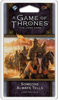A Game of Thrones: The Card Game - Someone Always Tells (Flight of Crows Cycle #6)
