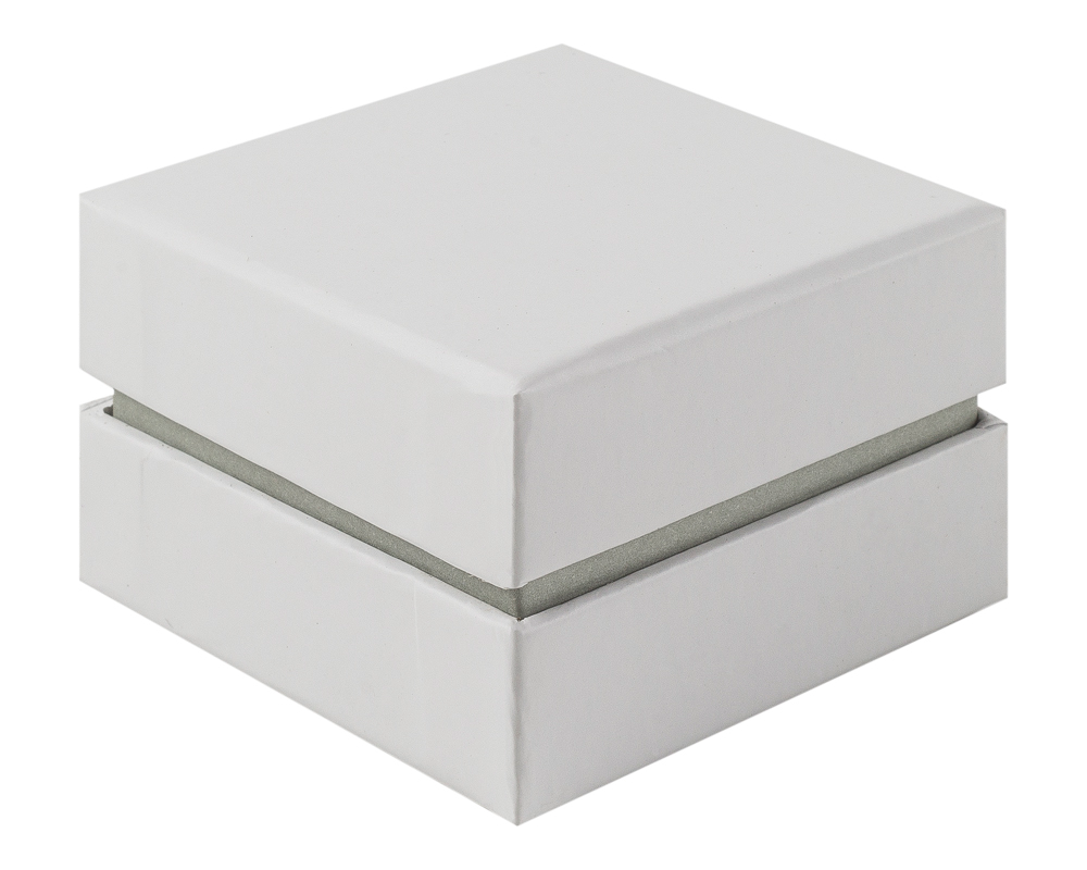 shoulder box collection ring jewellery box white grey
