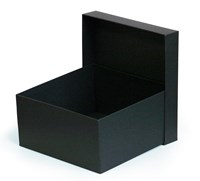 Black Matt Box 200x200x100mm (MMBB20)