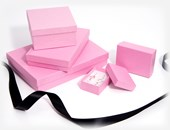 Kraft Pink jewellery boxes & gift boxes