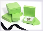 Kraft Light Green jewellery boxes & gift boxes