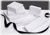 White Swirl jewellery boxes & gift boxes