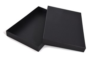 Luxury A4 Black gift box / stationery box 35mm depth (WPA4BL)