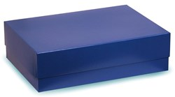 Blue Box With Blue Satin Lining 220x120x55mm