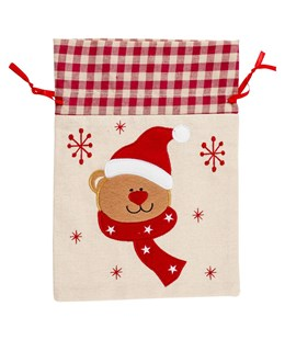 Small Teddy Bear Gift Sack