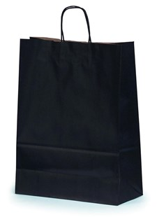 Large Black Gift Bag 32x14x42cm (BLACKLAR32)