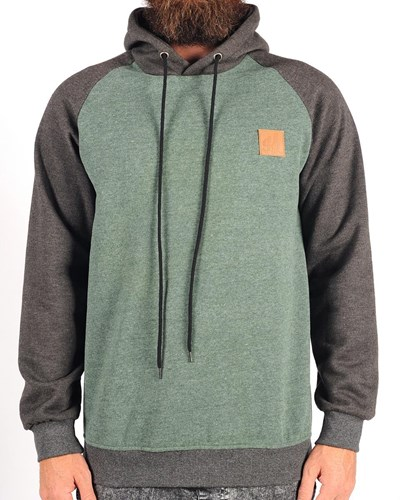GRAND FLAVOUR Pinline Hooded Pullover