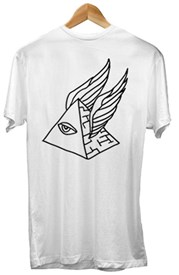 ZION WETSUITS Pyramid Scheme T Shirt - White