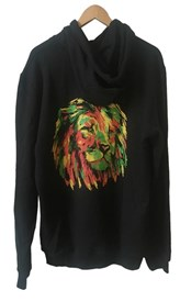 ZION WETSUITS Iron Lion Hoody - Black
