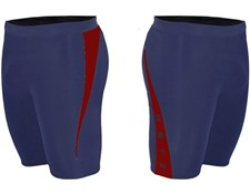 ZION WETSUITS MATLOCK 2/2mm Wetsuit Shorts - Navy/ Burgundy - 2014/15 Summer Range