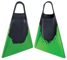 S2 STEALTH FINS - Black/ Lime