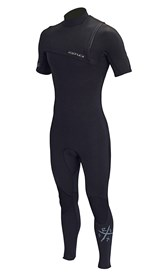 REEFLEX WETSUITS Wanderer 2/2mm Chest Zip Short Sleeve Steamer