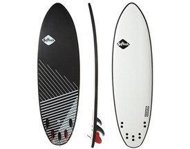 SOFTECH SOFT SURFBOARD Brainchild Tri Quad DSS Performance Model - 6'3