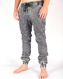 GRAND FLAVOUR Civilian Pant - Acid Black