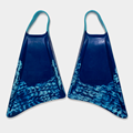 STEALTH S1 SUPREME FINS - Navy/ Ice Blue Pattern