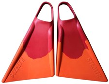 S2 STEALTH FINS - Red & Orange