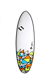 SOFTECH SOFT SURFBOARD Jake Levy Tri Quad DSS Model - 5'8