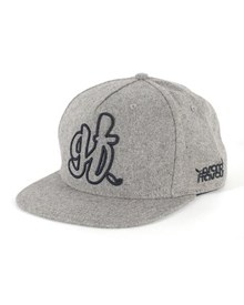 GRAND FLAVOUR GF Generation Snap Back Hat - Grey