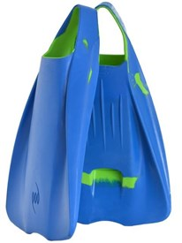 POD Fins PF1 Light Blue and Lime