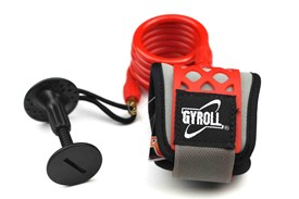 GYROLL Wrist Leash Red