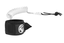 CREATURES OF LEISURE Coiled Wrist Leash - White / Black