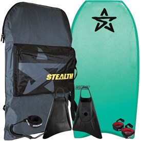 STEALTH BODYBOARDS Combat EPS Core - 2018/19 Model - Package Deal